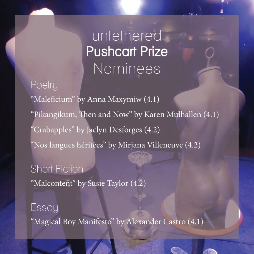 Pushcart Nominees Graphic